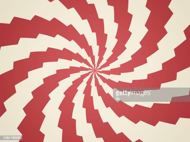 illustrazioni stock, clip art, cartoni animati e icone di tendenza di sfondo astratto fulmine a spirale - effetto zoom