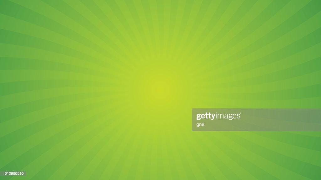 Spiral rays background