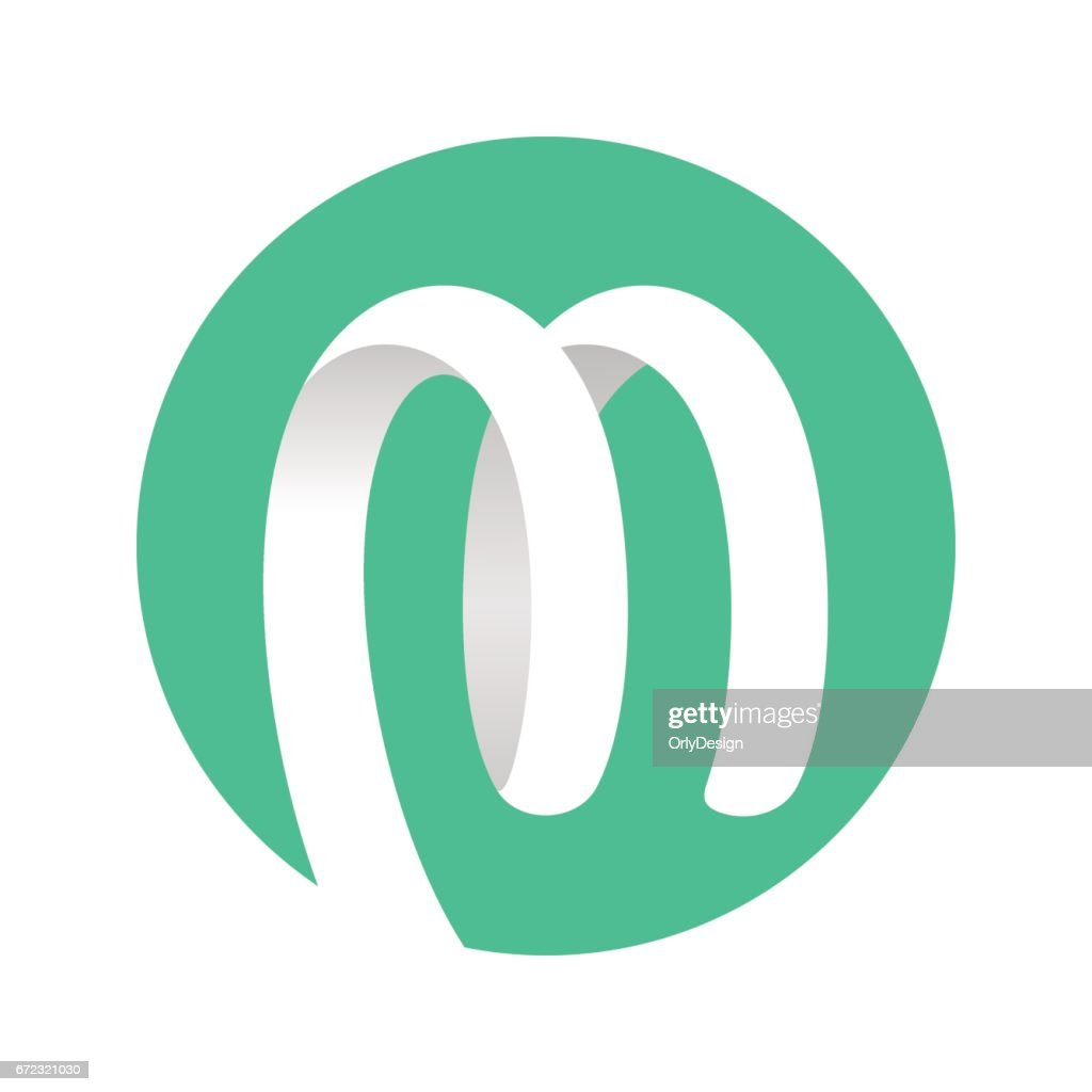 Spiral Ribbon Logo green circle