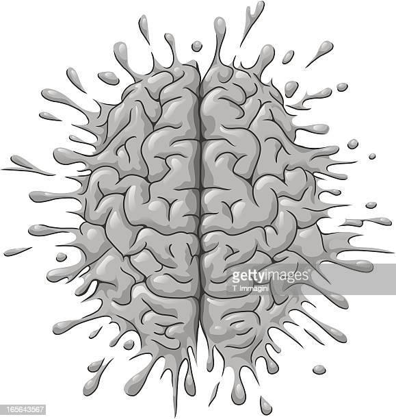 Splattered brain
