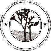 Splendid Joshua Tree Stamp