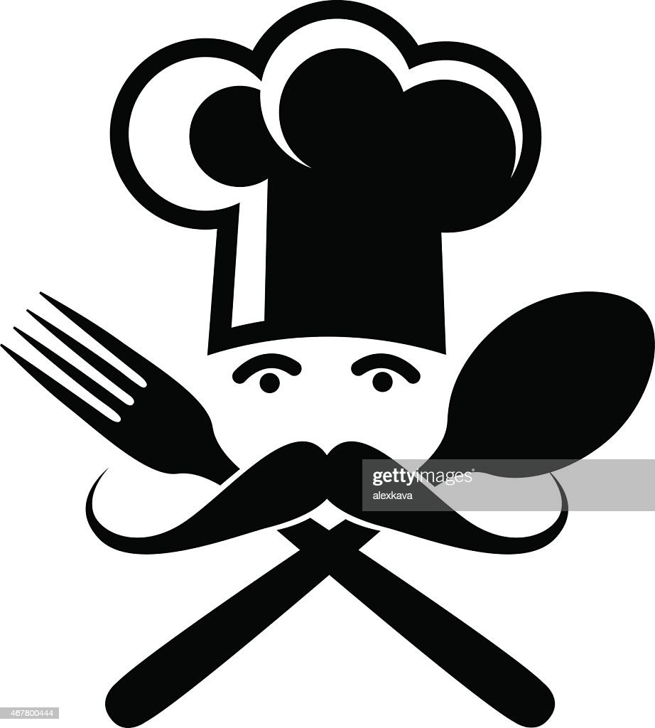 Spoon Fork And Chef Vector Art Getty Images