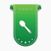 Spoon Green Vector Icon Design