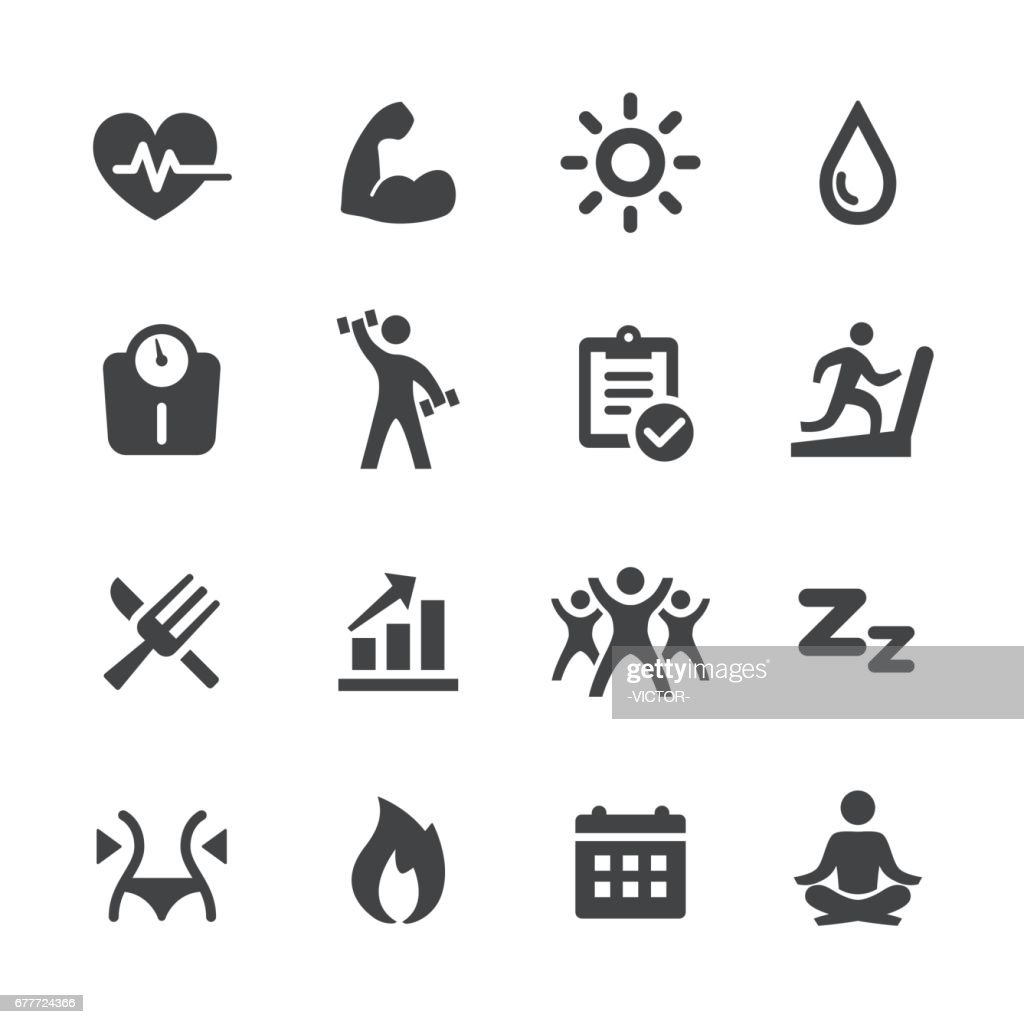 Sport and Activity Icons - Acme Series : stock illustration