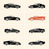 sport car icons