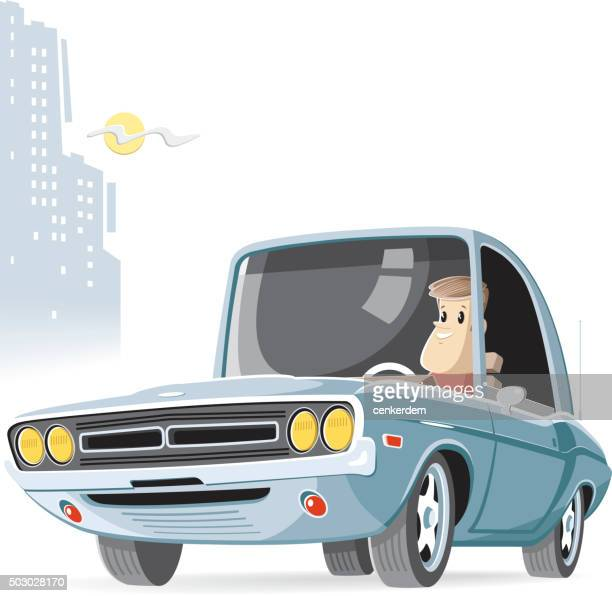 sport car - car ownership stock illustrations, clip art, cartoons, & icons