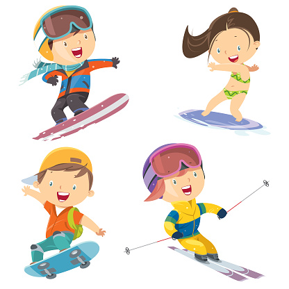 sport children set - gettyimageskorea