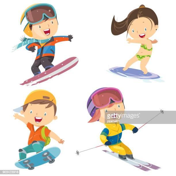 Sport-Kinder-set