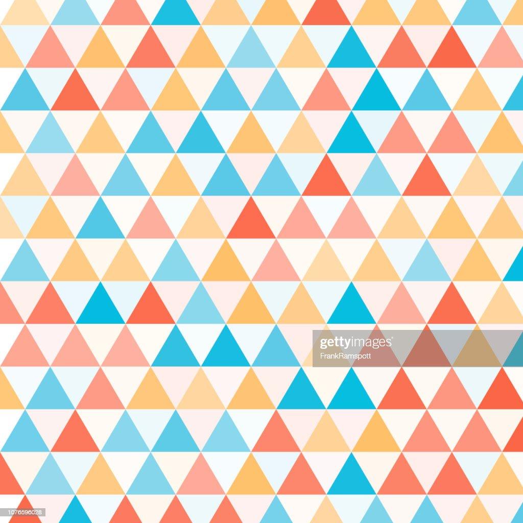 Sport gleichseitiges Dreieck Vektormuster : Vektorgrafik