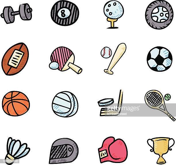 sport icon - drive ball sports stock illustrations, clip art, cartoons, & icons