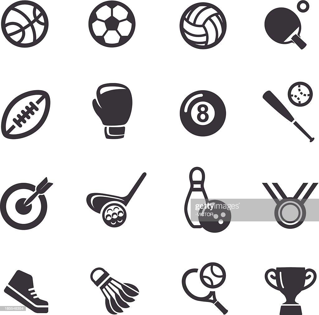 Sport icons - Acme Series : stock illustration