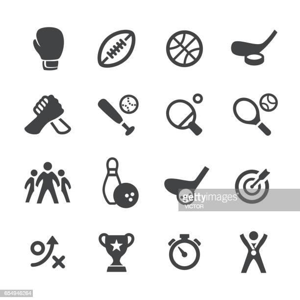 illustrations, cliparts, dessins animés et icônes de acme sport icônes-série - gant de boxe