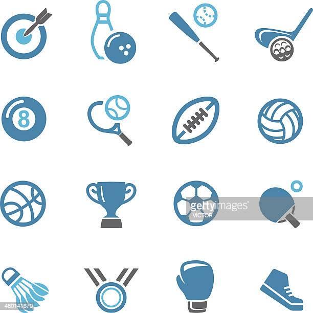 ilustraciones, imágenes clip art, dibujos animados e iconos de stock de deportes iconos-conc. de la serie - raqueta de tenis