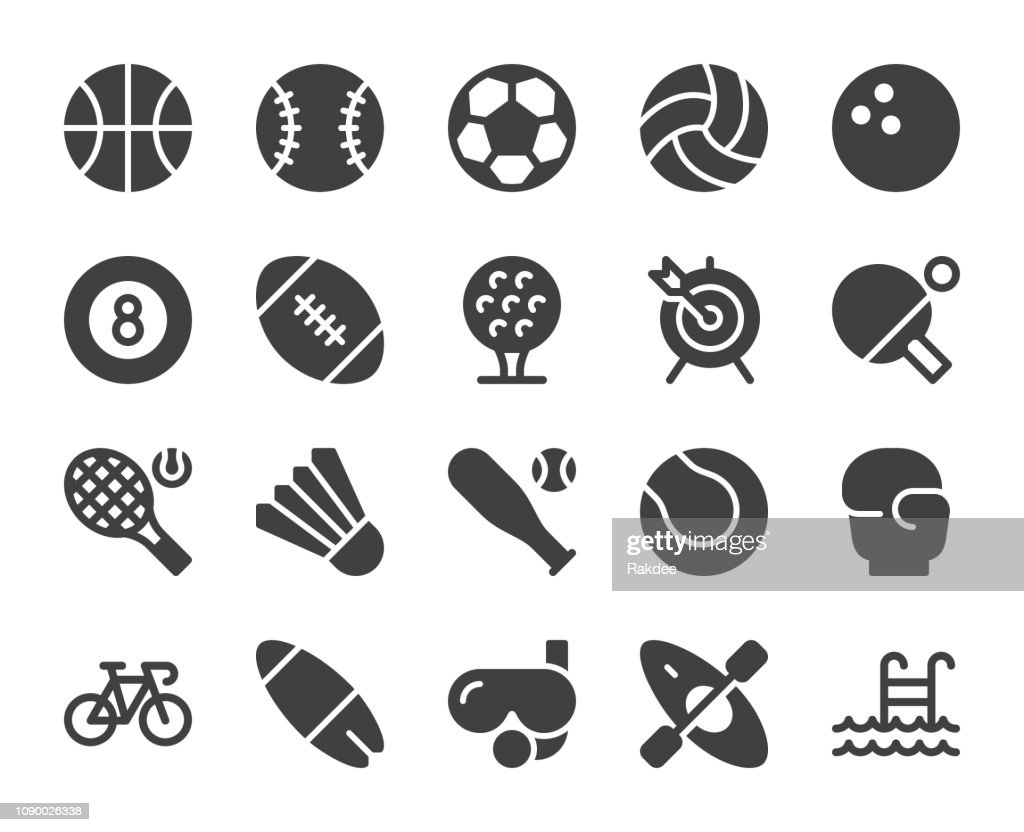Sport - Icons : Stock Illustration