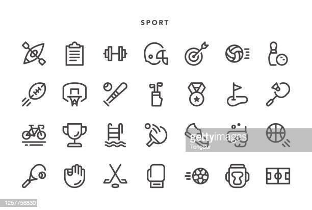 bildbanksillustrationer, clip art samt tecknat material och ikoner med sport ikoner - birdie golf