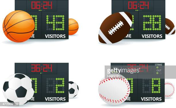 sport symbol - scoring stock-grafiken, -clipart, -cartoons und -symbole