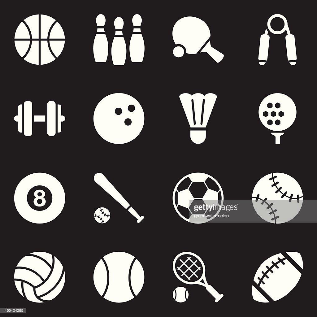 Sport Icons | White Series