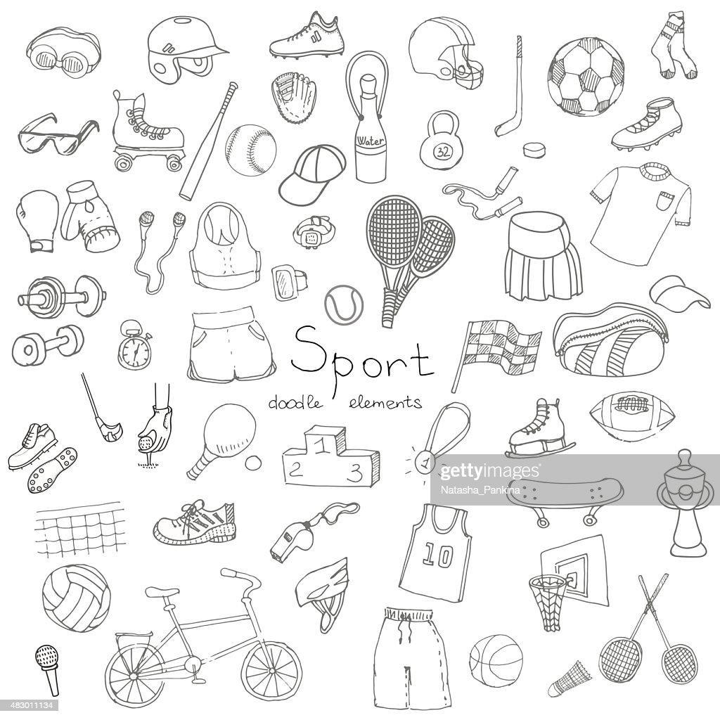 Sport set_white