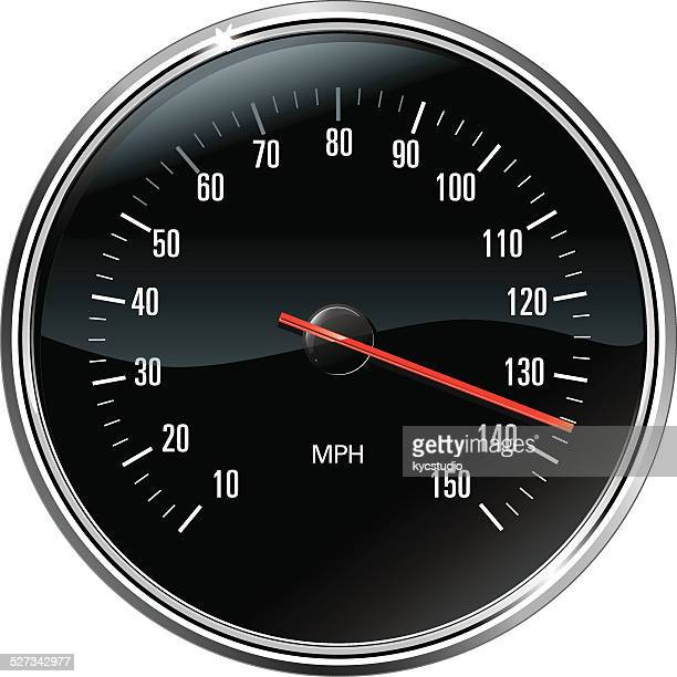 sport speedometer - speedometer stock illustrations
