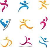 Sport symbol and icon