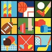 Sport symbols 1