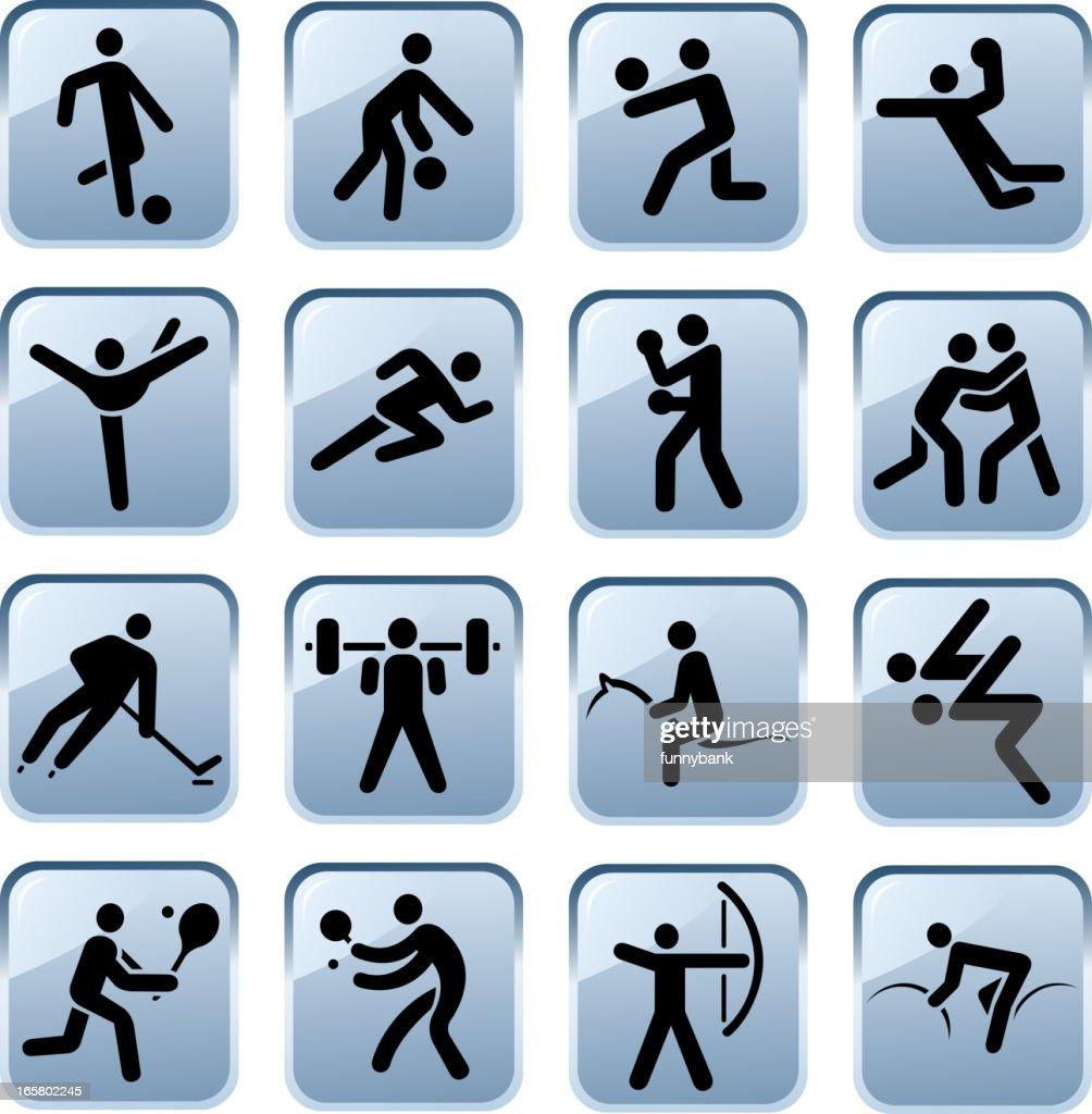 Sport symbols vector art getty images sport symbols biocorpaavc