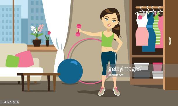 Sport training at home