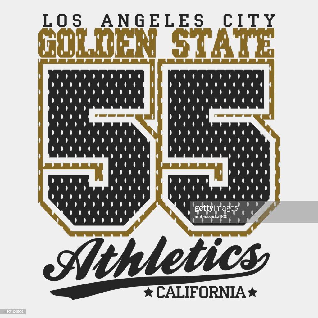 Sport Typography Graphics T-shirt