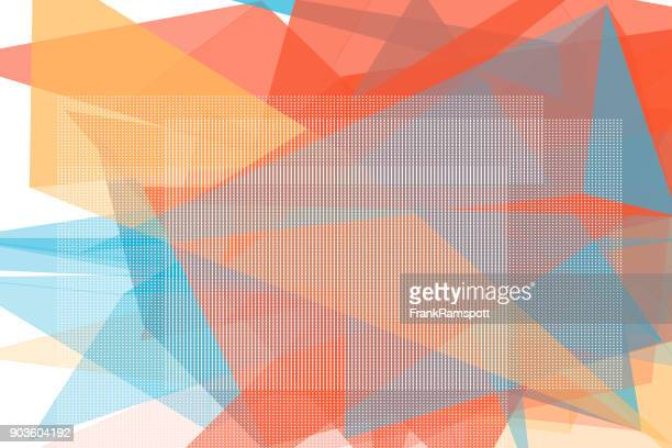Sport Vektor Polygon Design Pattern Horizontal