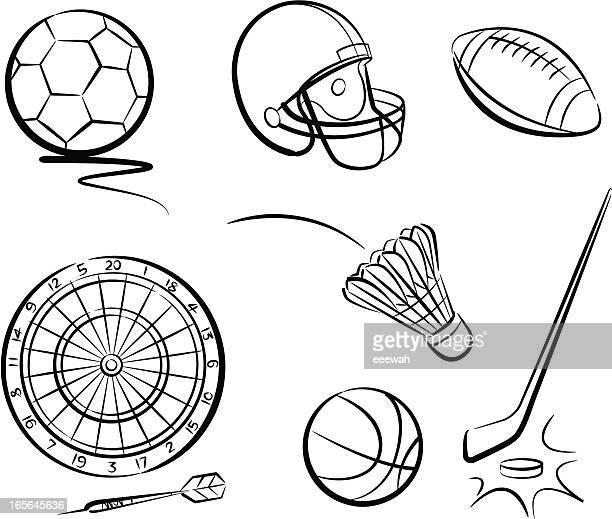 illustrations, cliparts, dessins animés et icônes de sport 1 - lance