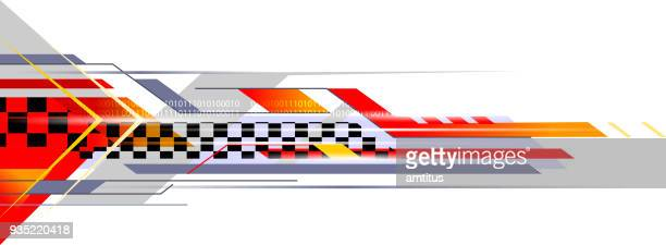 sports abstract - sports race stock illustrations