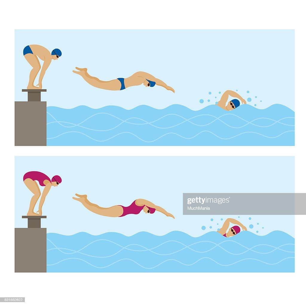 Sports Athletes, Swimming