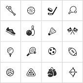 Sports & Athletics Icons — Inky Series
