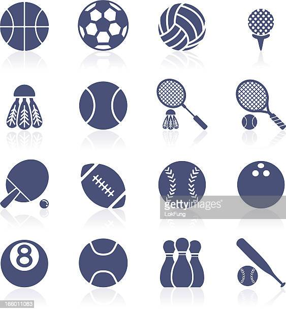 Sport ball icon Kollektion