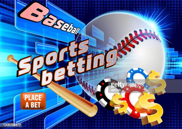 sports betting baseball - tournament of champions stock illustrations, clip art, cartoons, & icons