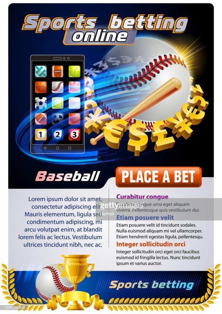 體育投注棒球 : 插圖檔