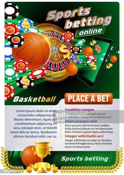 sports betting basketball - bookmakers stock illustrations, clip art, cartoons, & icons