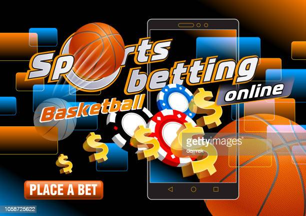 sports betting basketball - tournament of champions stock illustrations, clip art, cartoons, & icons