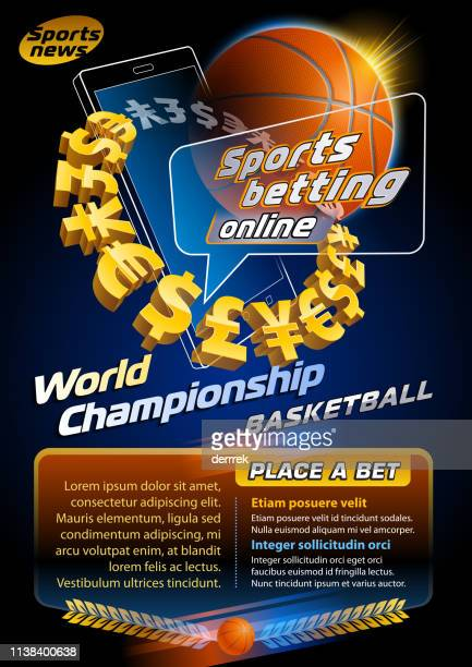 sports betting basketball - bookmaker stock illustrations, clip art, cartoons, & icons