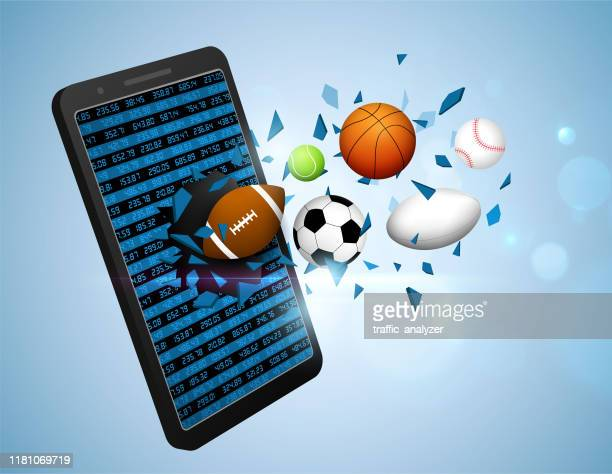 stockillustraties, clipart, cartoons en iconen met sportweddenschappen - sporting term