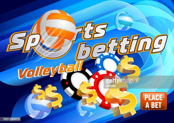 sports betting volleyball - tournament of champions stock illustrations, clip art, cartoons, & icons
