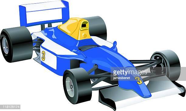 F1 Sports Car (Vector)