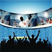 Sports celebration