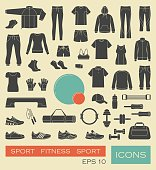 Sports clothing, equipment and accessories