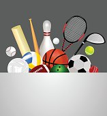 Sports Equipment Template