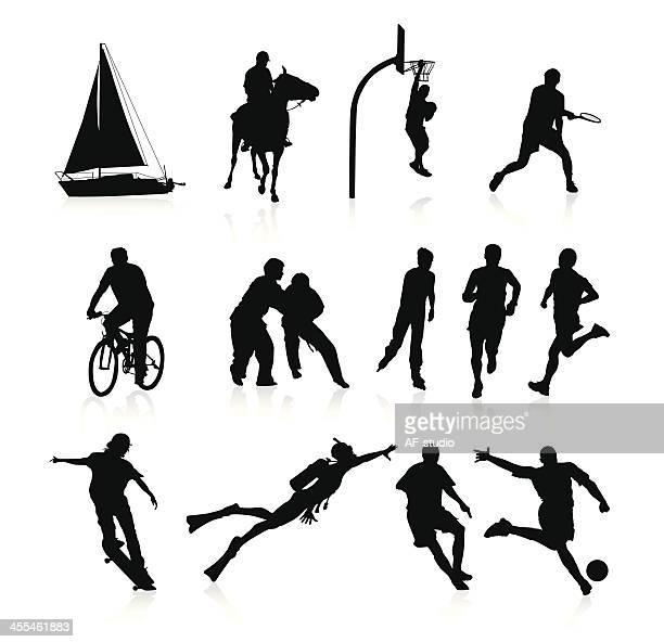 スポーツ&趣味 - 柔道点のイラスト素材/クリップアート素材/マンガ素材/アイコン素材