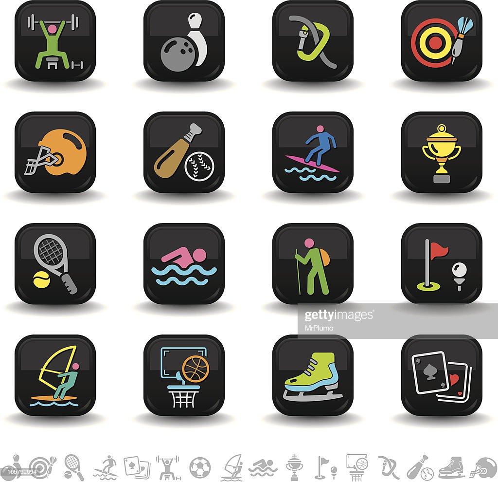 Sports icons | bbton series