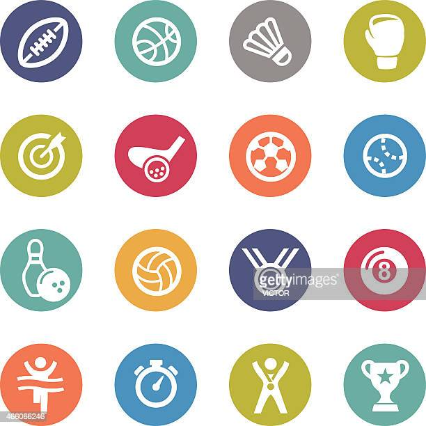 Sports Icons - Circle Series