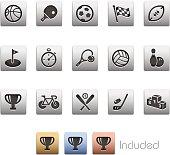Sports Icons - Metalbox Series