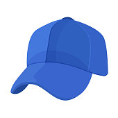 Sports playing and training cap hat for cricket.